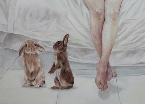 Peeping Rabbits