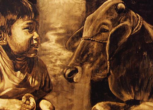 Bercakap Dengan Lembu