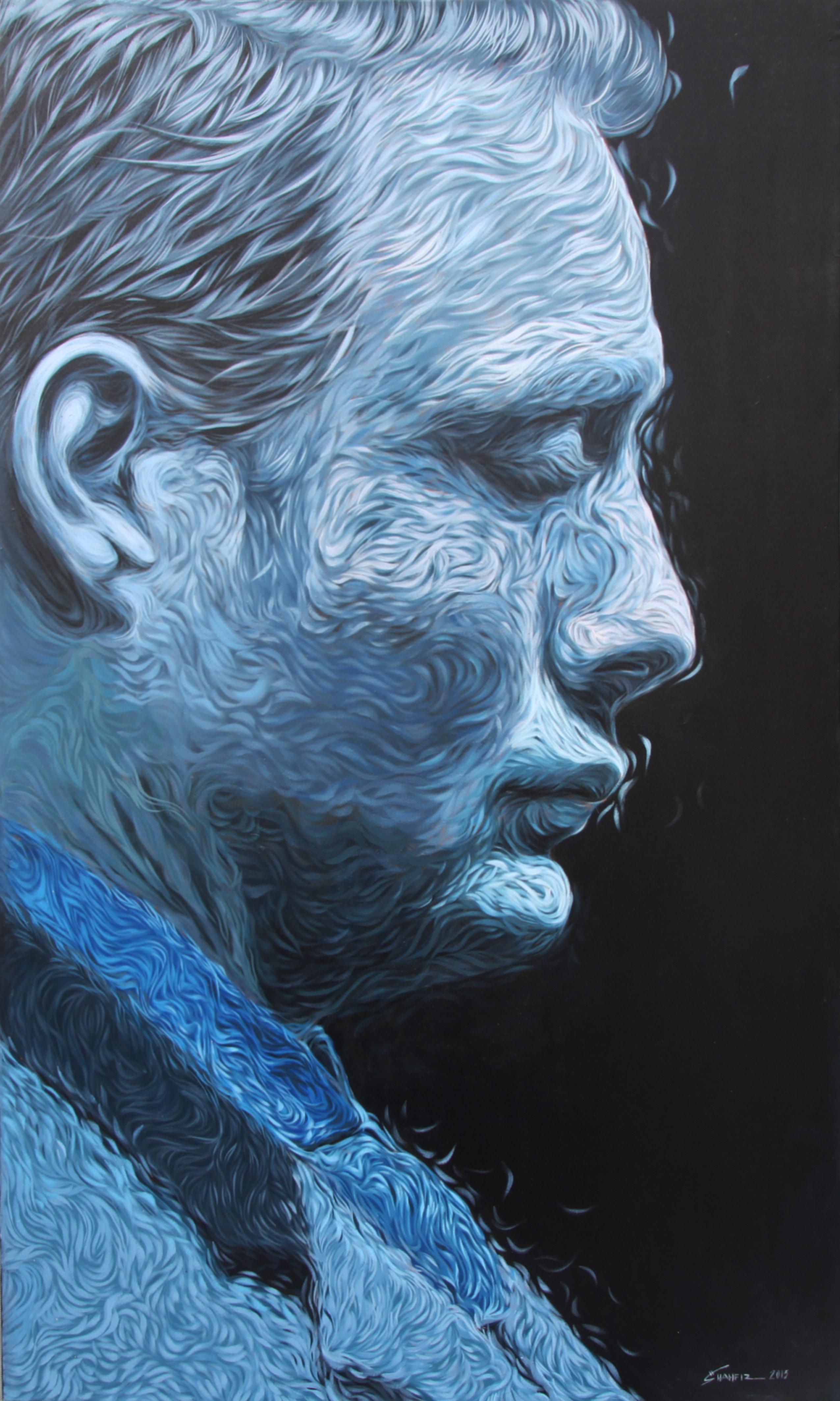 Mikkelsen in Blue
