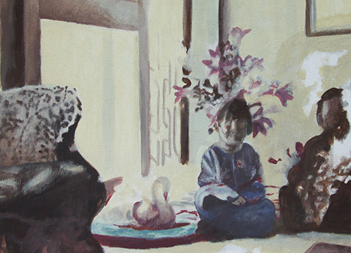 Study for 'untitled (double portrait)