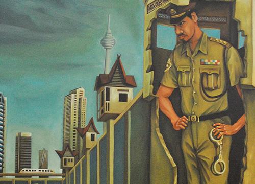 The Giant Policeman