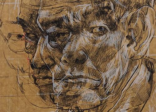Old Man at Java Road Market