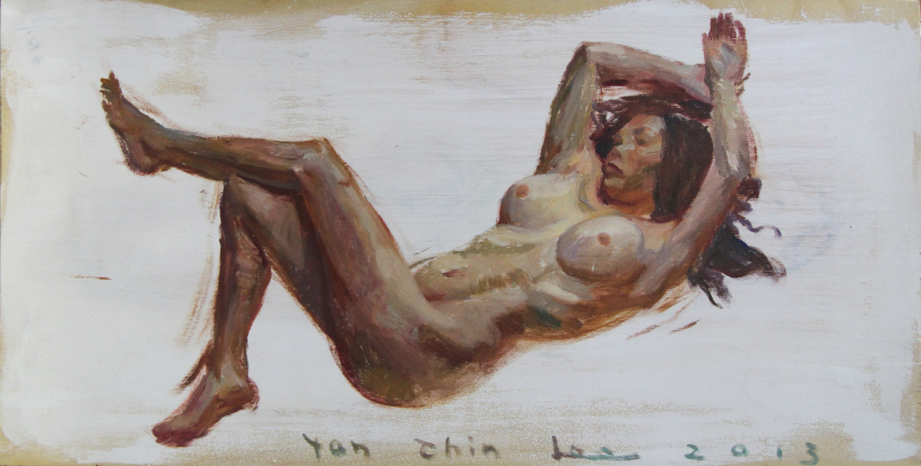 Reclining Nude facing Left – GCL