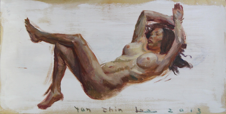 Reclining Nude facing Left