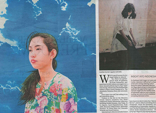 Art Stage Jakarta 2016- Group Exhibition was listed in New Sunday Times on August 2016