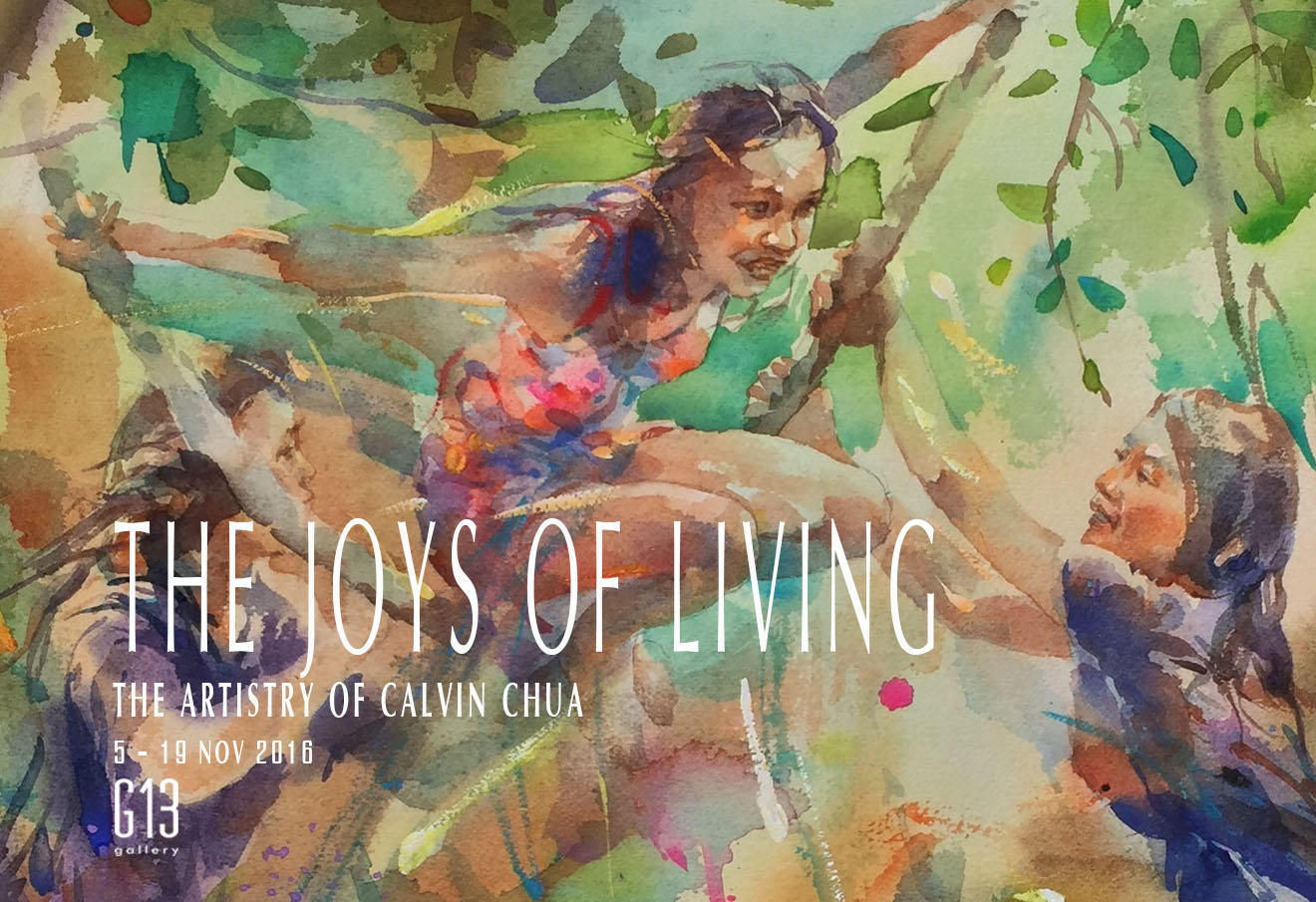 THE JOYS OF LIVING: THE ARTISTRY OF CALVIN CHUA