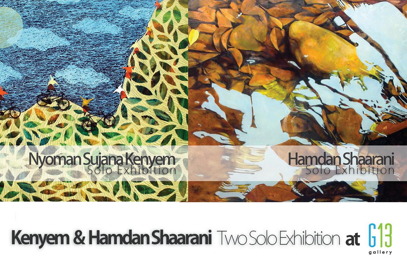 Kenyem & Hamdan Shaarani Two Solo Exhibition