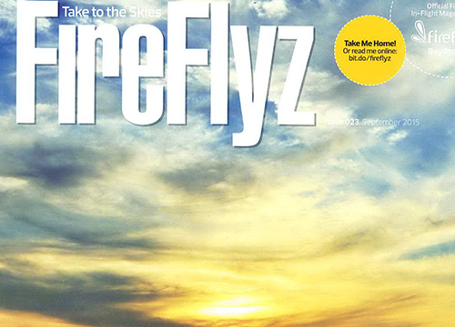 Tales From The City : Group Exhibition was listing in Firefly Magazine issue 23 on August 2015