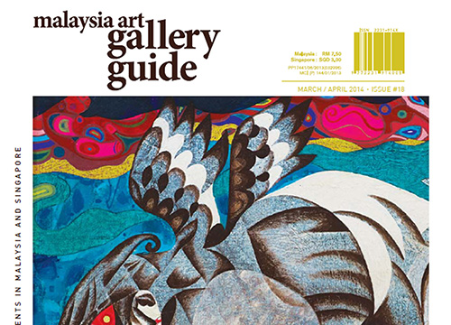 Faizal Suhif Stories From The Soil was listing in Malaysia Art Gallery Guide Magazine on March 2014
