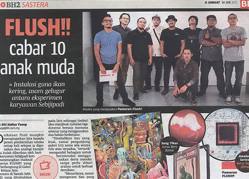 Flush!!: Sebiji Padi Community was listing in Berita Harian on June 2015