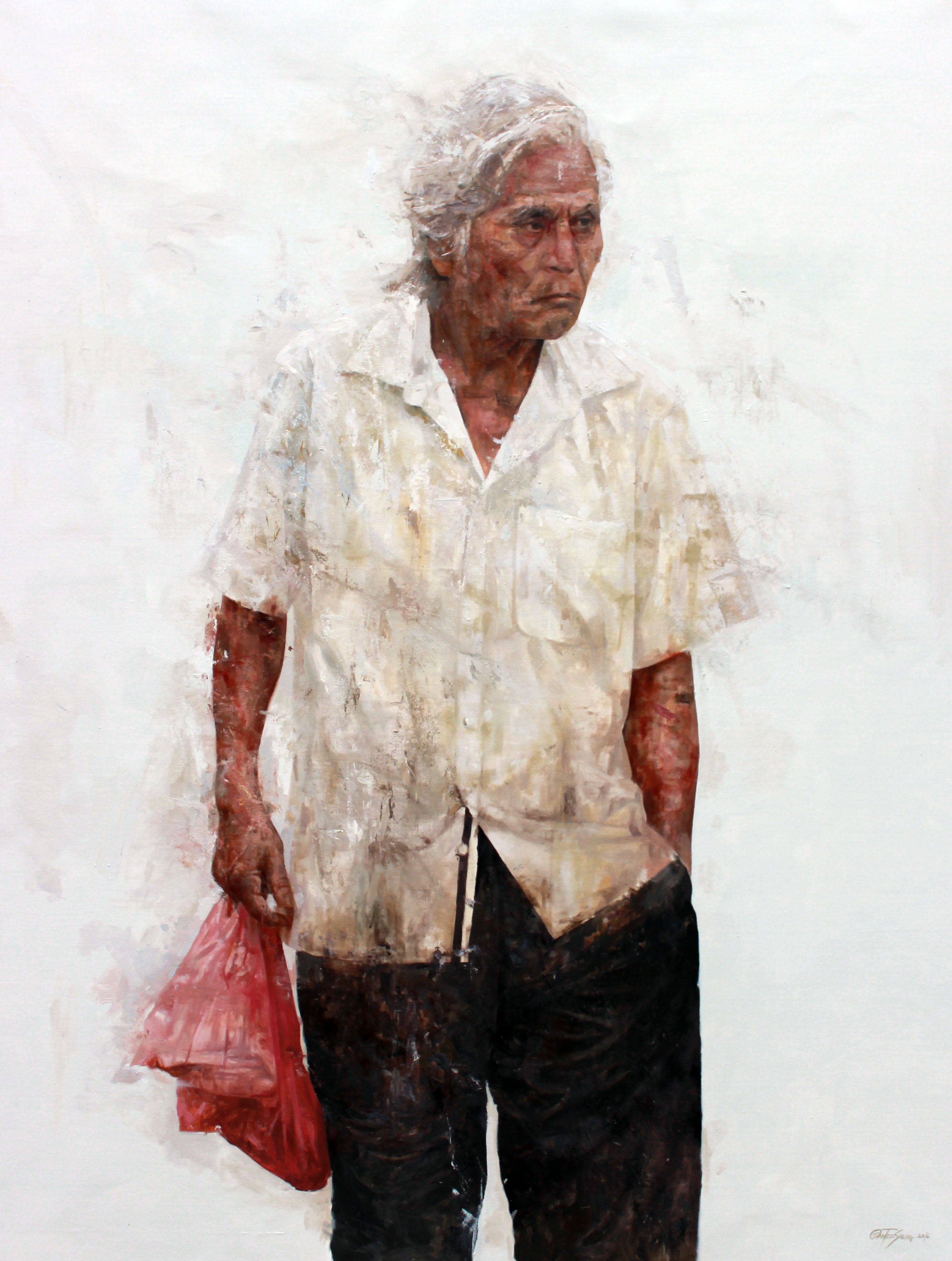 Malay old man 1