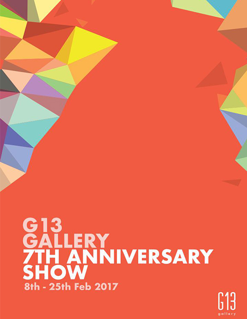 G13 Gallery 7th Anniversary
