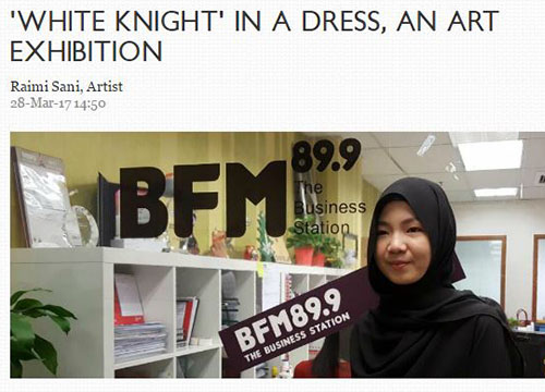 Raimi Sani was interviewed by Lim Soon Heng from BFM radio – For those who wish to download the audio file can head over to BFM website.