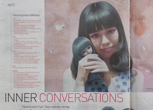 Yuki Tham featured in New Straits Times on March 2017