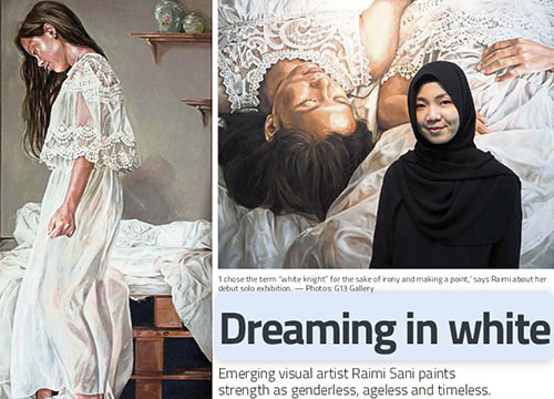 White Knight : Solo Exhibition by Raimi Sani was listing in The Star on April 2017