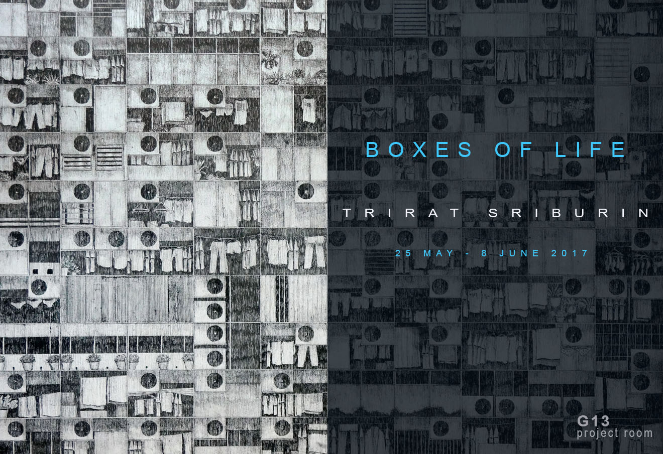 G13 Project Room : Boxes of Life by Trirat Sriburin