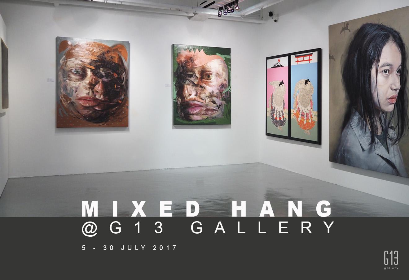 Mixed Hang @G13 Gallery