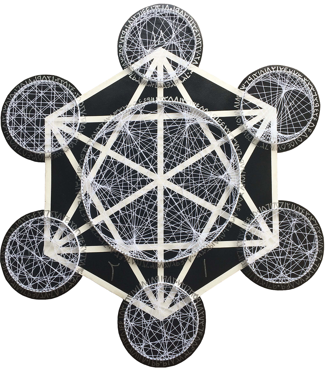 Multiplication Time Table of Number 3 in Metatron Cube