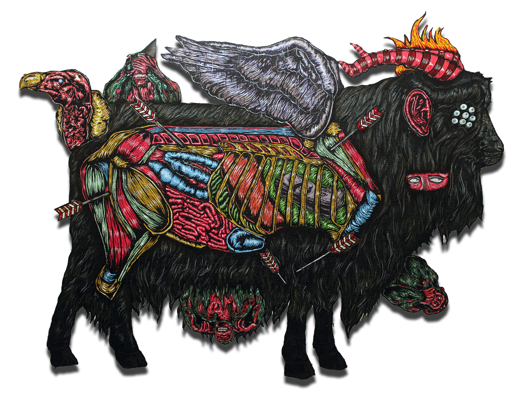 The Black Goat Who Defended His Master