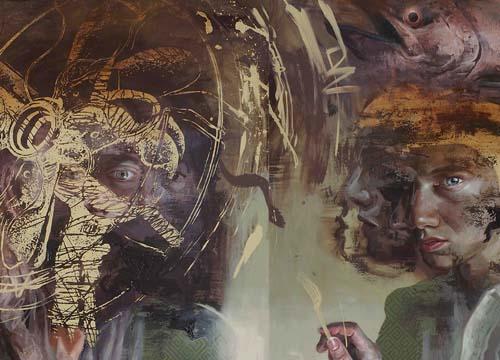 Ribut di Rumah Auction ( After William Kentridge's Art I n The State Series # Full)