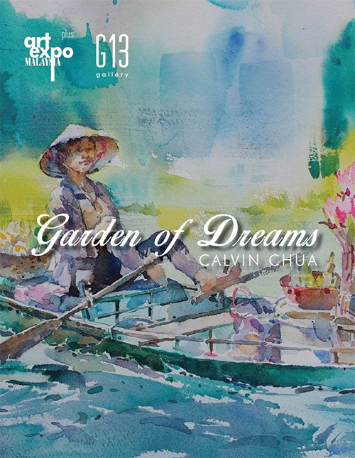 Garden of Dreams by Calvin Chua @ Art Expo Malaysia 2018