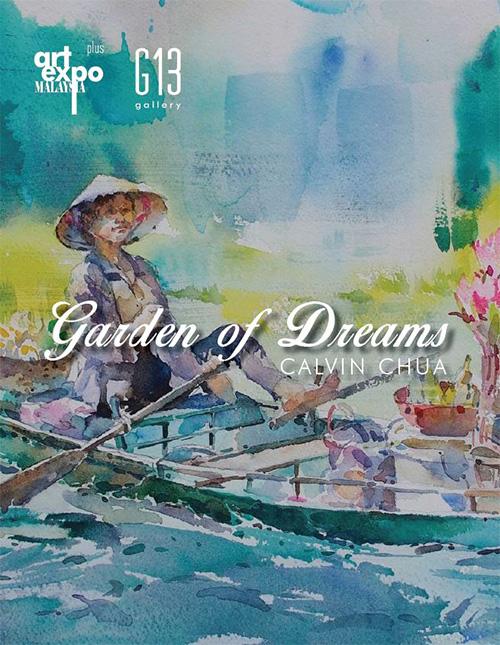 Garden of Dreams by Calvin Chua @ Art Expo Malaysia 2018