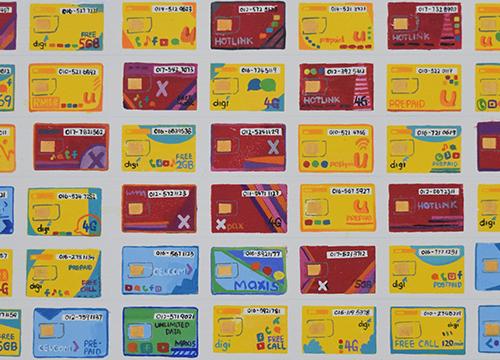Pilih kad telekomunikasi yang anda gunakan