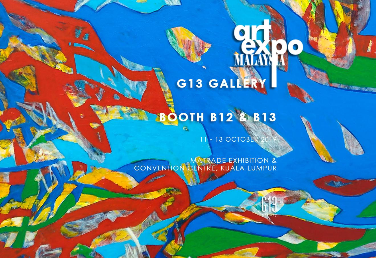 Art Expo Malaysia 2019 @ BOOTH B12 & B13
