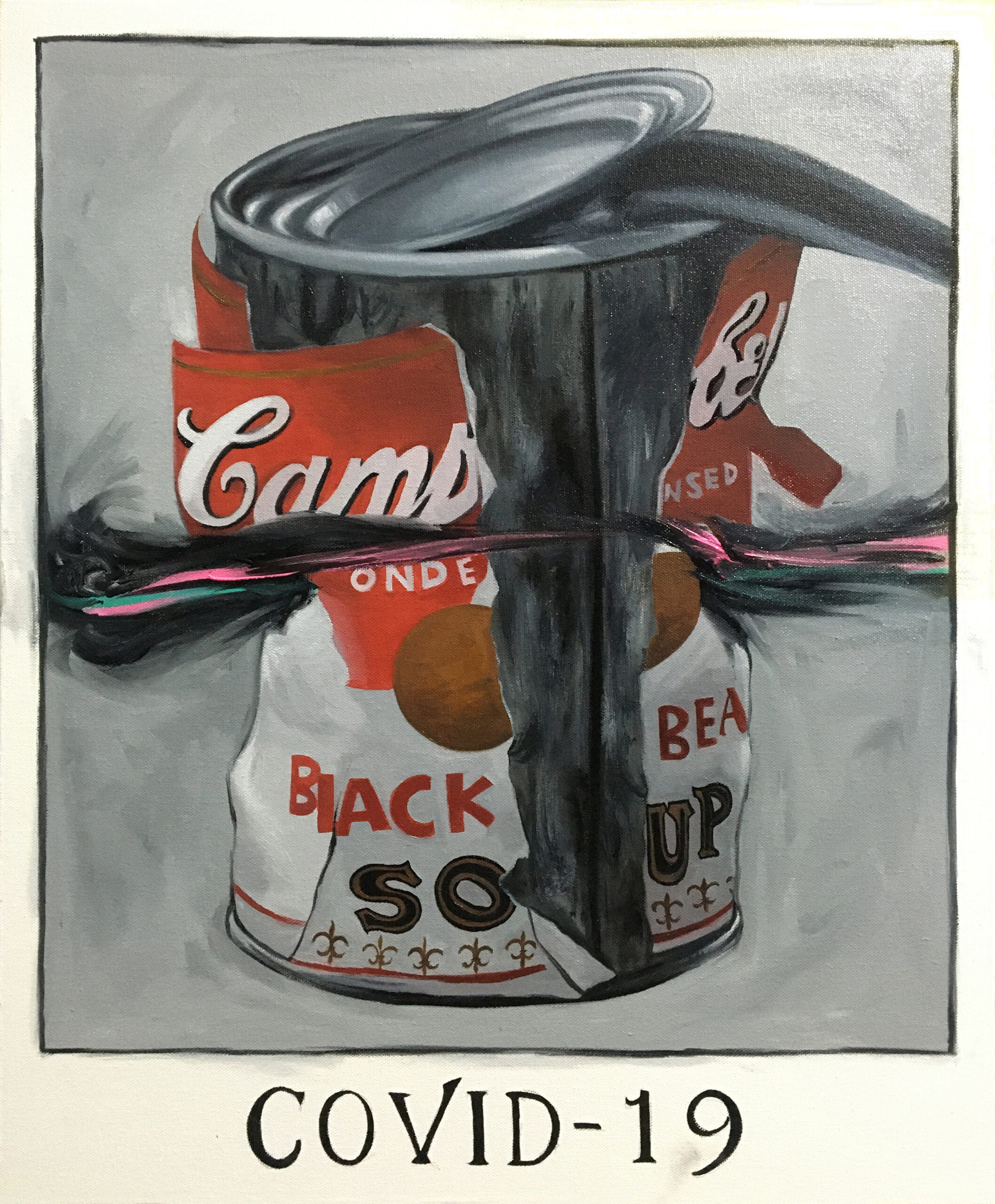 Big Torn Campbell's Soup Can-19