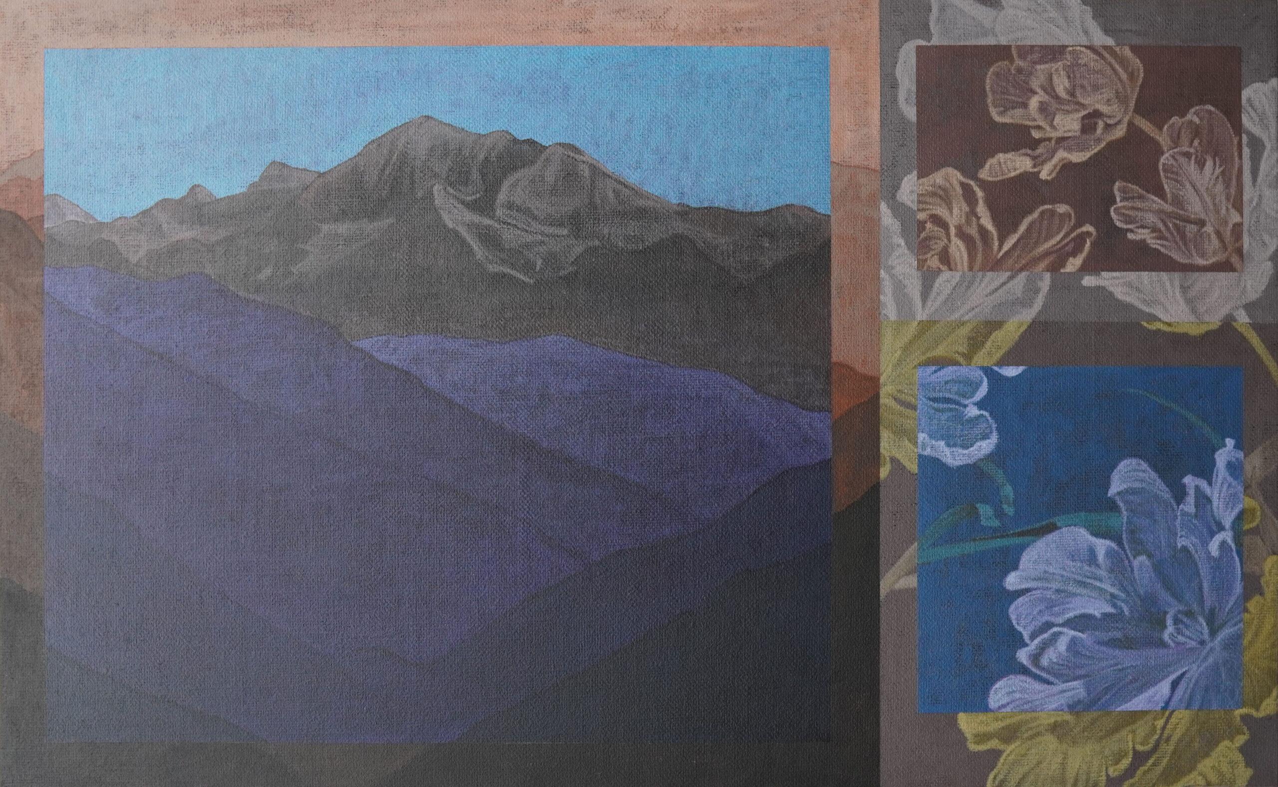 Mountain and Tulip – Haziq Syawal